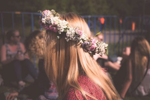 Festival season – the best festival hairstyles uncovered