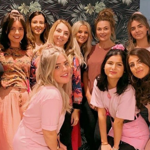 Wear it Pink Day at Mack Hair and Beauty