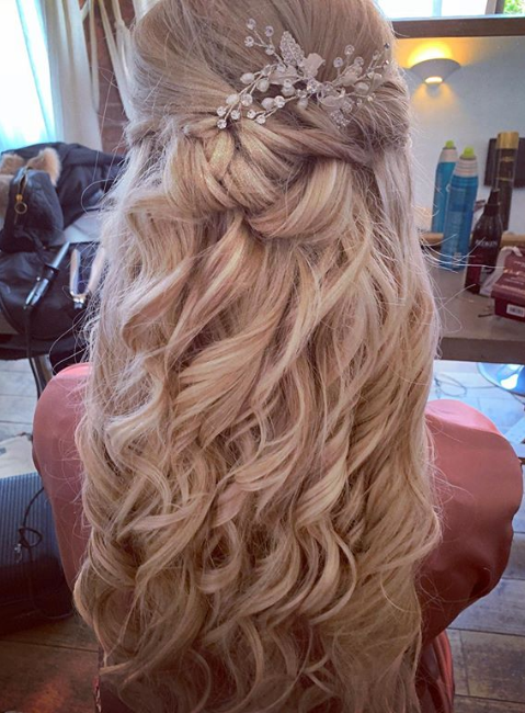 Mack Hair Rugby - Wedding hair styles #2